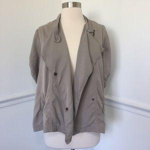 Bb Dakota Asymmetrical Open Jacket